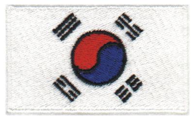 "Embroidery Design: Korea2.53"" x 1.51"""