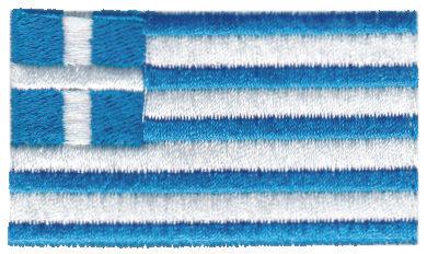 "Embroidery Design: Greece2.51"" x 1.51"""