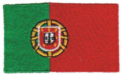 "Embroidery Design: Portugal2.54"" x 1.52"""