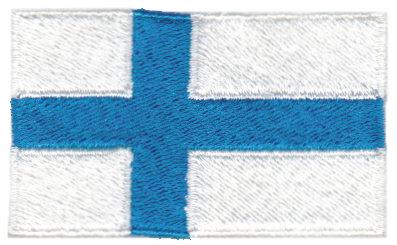 "Embroidery Design: Finland2.54"" x 1.52"""