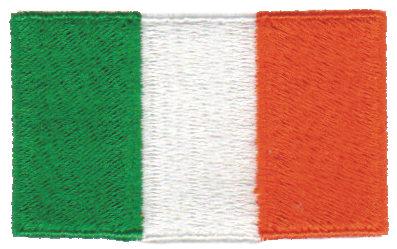 "Embroidery Design: Ireland2.54"" x 1.52"""