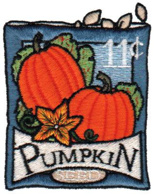 """Embroidery Design: Pumpkin Seeds2.80"""" x 3.55"""""""