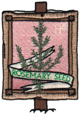 """Embroidery Design: Rosemary Seeds2.73"""" x 3.74"""""""