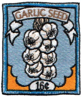 "Embroidery Design: Garlic Seeds2.68"" x 3.11"""