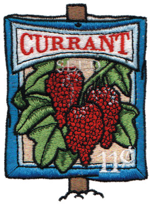 """Embroidery Design: Currant Seeds2.78"""" x 3.71"""""""