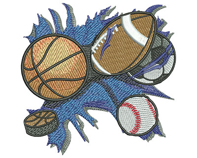 Embroidery Design: All Sports Med 4.00w X 3.93h