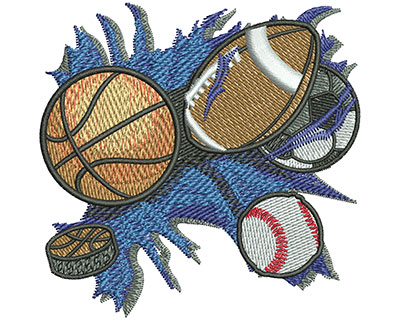 Embroidery Design: All Sports Sm 3.00w X 2.94h