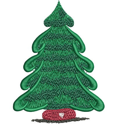 Embroidery Design: Pine Tree Lg 3.01w X 4.02h