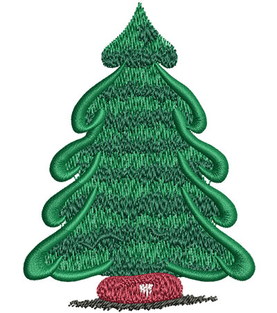 Embroidery Design: Pine Tree Med 2.64w X 3.51h