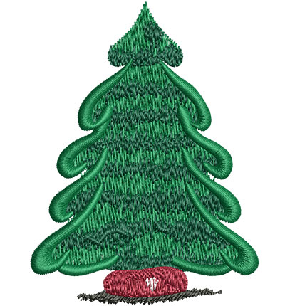 Embroidery Design: Pine Tree Sm 2.26w X 3.01h