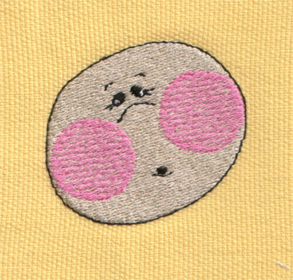 """Embroidery Design: Baby Face2.01"""" x 1.79"""""""