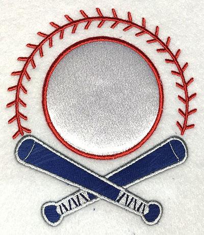 Embroidery Design: Bat Monogram Applique 4.56w X 5.21h