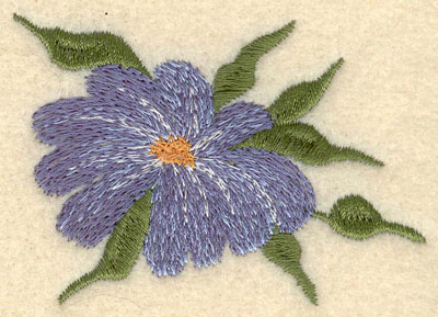 Embroidery Design: Forget Me Not Bloom Small2.88w X 2.04h