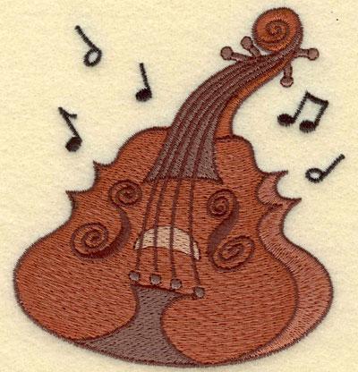 Embroidery Design: Cello Small3.69w X 3.83h