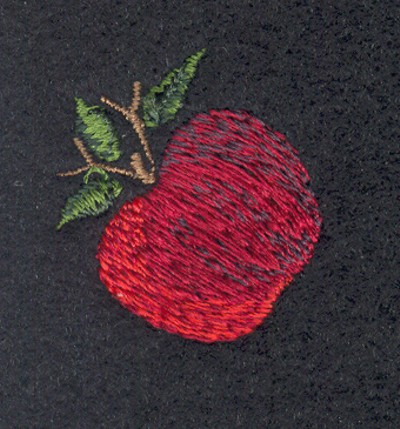 "Embroidery Design: Fruit of the Spirit Apple 21.14"" x 1.24"""