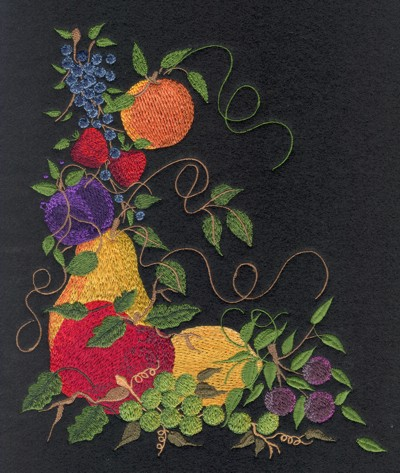 "Embroidery Design: Fruit of the Spirit7.57"" x 8.67"""