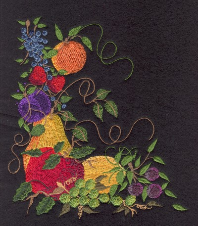 """Embroidery Design: Fruit of the Spirit (small)5.68"""" x 6.50"""""""