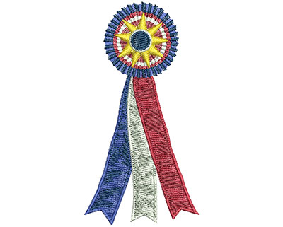 Embroidery Design: Best In Show Ribbon Lg 1.81w X 3.53h