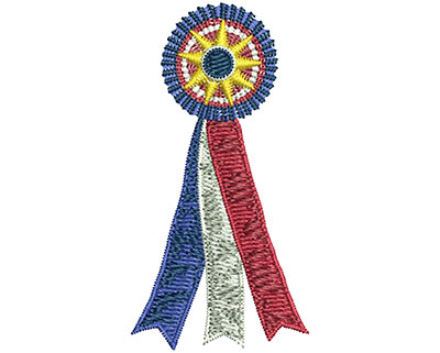 Embroidery Design: Best In Show Ribbon Sm 1.30w X 2.53h