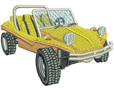 Embroidery Design: Dune Buggy Sm 2.50w X 1.81h