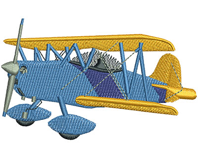 Embroidery Design: Smith Miniplane Lg 3.50w X 2.18h
