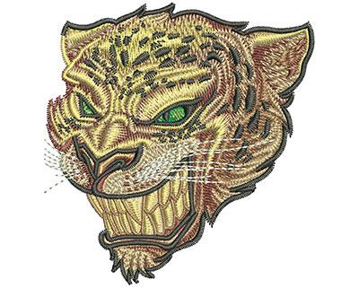 Embroidery Design: Jaguar Stare Sm 3.08w X 3.22h