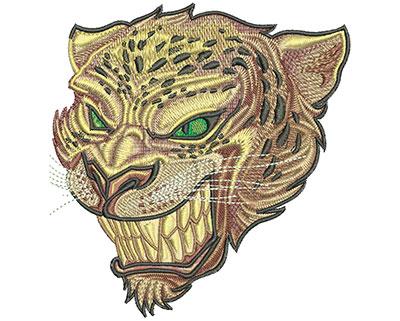 Embroidery Design: Jaguar Stare Lg 4.99w X 5.22h