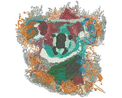 Embroidery Design: Koala Sit Lg 7.61w X 8h
