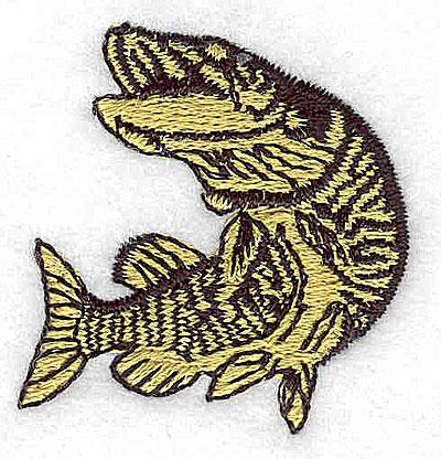 Embroidery Design: Fish 1.44w X 1.50h