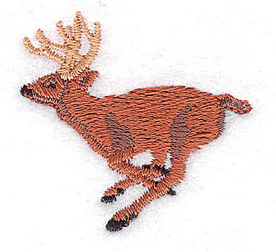 Embroidery Design: Deer  1.44w X 1.38h