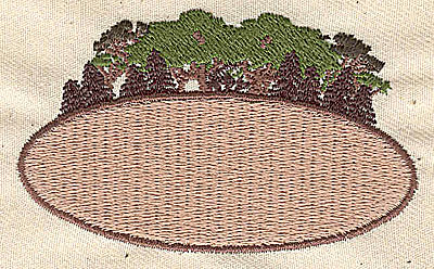 Embroidery Design: Forestry scene 2.94w X 1.75h
