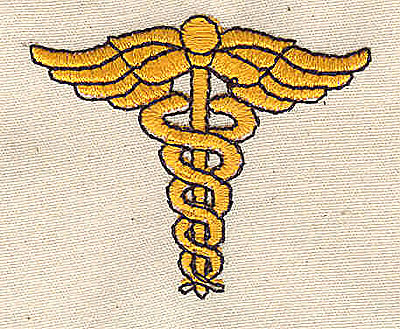 Embroidery Design: Medical symbol 1.88w X 1.63h