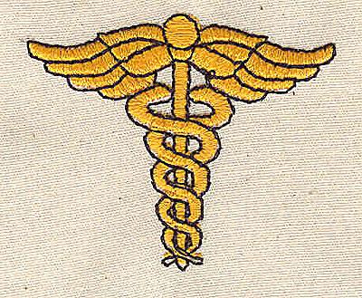Embroidery Design: Medical symbol 1.88w X 1.63h