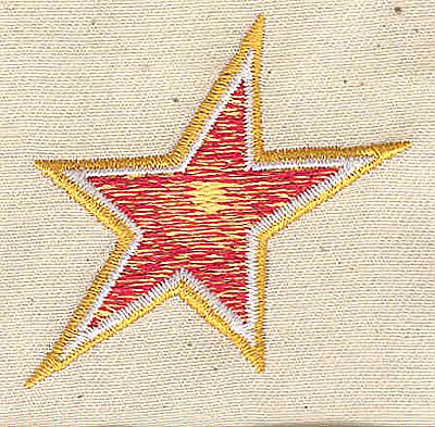 Embroidery Design: Star 2.00w X 1.81h