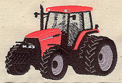 Embroidery Design: Tractor 3.25w X 2.48h