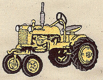 Embroidery Design: Tractor 2.06w X 2.75h