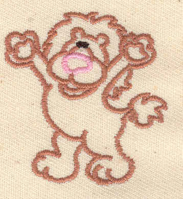 Embroidery Design: Cartoon lion 1.56w X 1.69h
