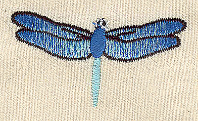Embroidery Design: Dragonfly 2.00w X 1.06h