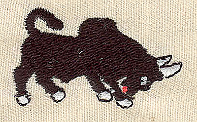 Embroidery Design: Bull 1.75w X 1.00h