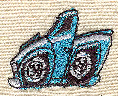 Embroidery Design: Stylized truck 1.19w X 0.94h