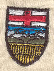 Embroidery Design: Alberta code of arms 0.75w X 1.00h