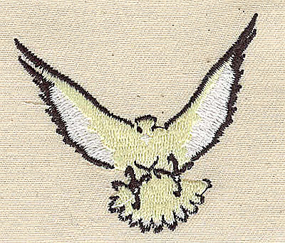 Embroidery Design: Eagle 2.19w X 2.00h