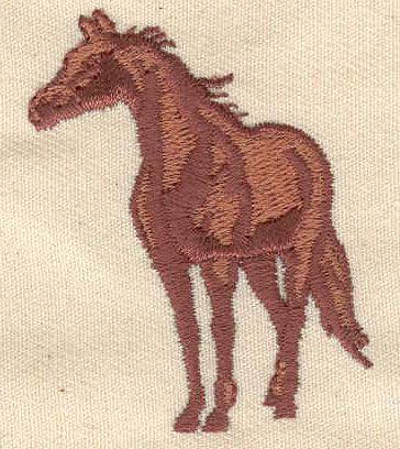 Embroidery Design: Horse 1.94w X 1.55h