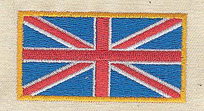 Embroidery Design: Union Jack 2.44w X 1.94h