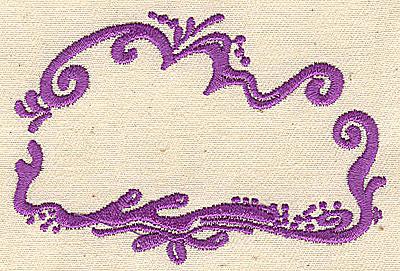 Embroidery Design: Border design 3.25w X 2.25h