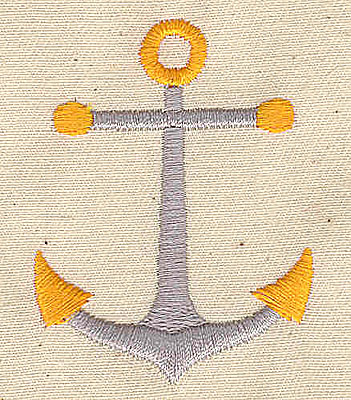 Embroidery Design: Anchor 1.69w X 2.25h