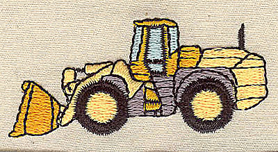 Embroidery Design: Tractor2.50w X 1.06h