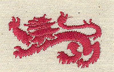 Embroidery Design: Lion 1.50w X 0.88h