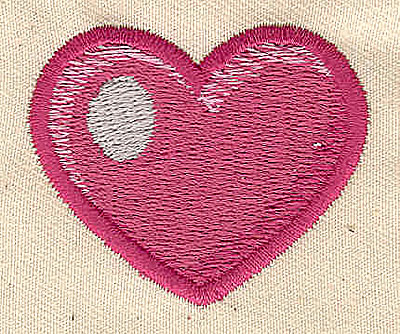 Embroidery Design: Heart 1.81w X 1.50h