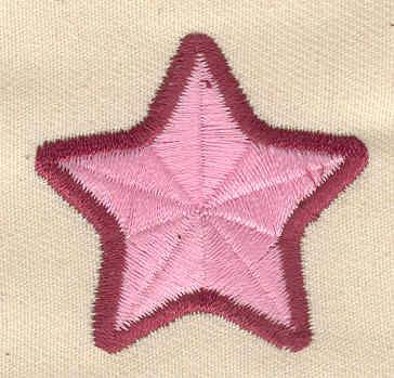 Embroidery Design: Star 1.50w X 1.44h
